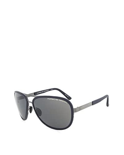 Porsche Men's P8567 C Aviator Sunglasses, Gunmetal