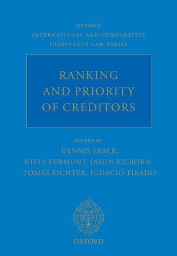 Ranking and Priority of Creditors (Oxford International and Comparative Insolvency Law)