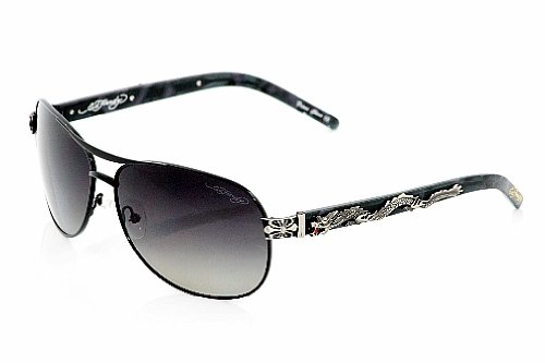 ED HARDY DIVING DRAGON Sunglasses Black Shades