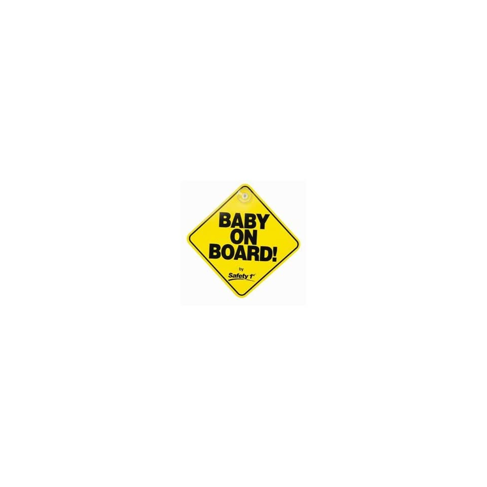 Safety 1st Baby On Board Sign on PopScreen 3884db477