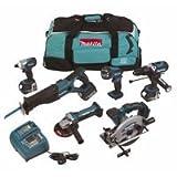 MAKITA LXT600 18.0V Cordless 6 Piece Kit DK1805