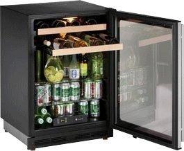 16 Bottle Single Zone Wine Refrigerator Hinge Location: Reversible, Lock: No
