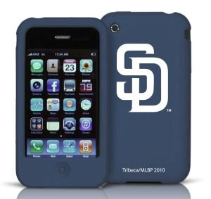 San Diego Padres iPhone 3G / 3GS Silicone Case