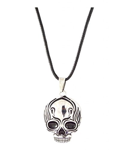 Macho Mens Necklace for Men or Boys (Silver color) by Sarah