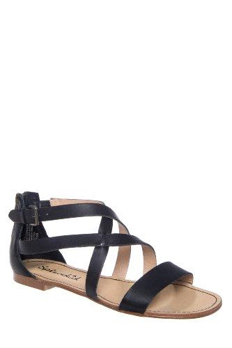 Cantina Ankle Strap Flat Sandal
