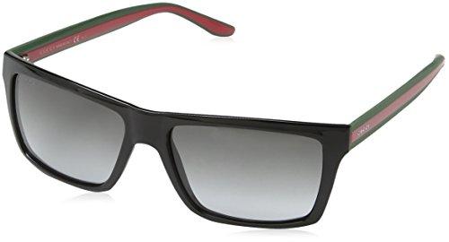 gucci-mens-1013-black-red-green-frame-grey-gradient-lens-plastic-sunglasses