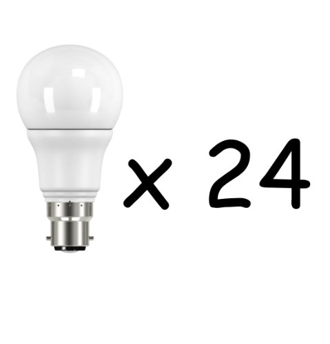 6W B22 LED Bulb (Cool Day Light, Set of 24)