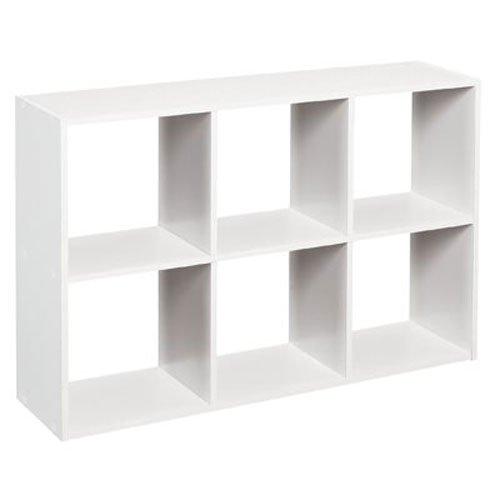 ClosetMaid 1578 Cubeicals Mini 6-Cube Organizer, White (Cubbies Storage compare prices)