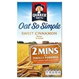 Quaker Oats Oat So Simple Sweet Cinnamon Porridge 10 X 33G