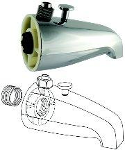 universal faucet parts 46005 diverter tub spout tub filler faucets. Black Bedroom Furniture Sets. Home Design Ideas