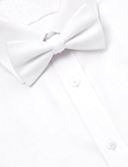 Pure Cotton Textured Bow Tie