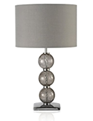 3 Balls Glass Stack Table Lamp