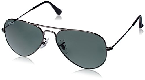 Ray-Ban Aviator Sunglasses (Gunmetal) (RB3025|004/5855)