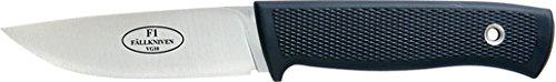 Fallkniven F1, Thermorun Handle, Plain, Leather Sheath