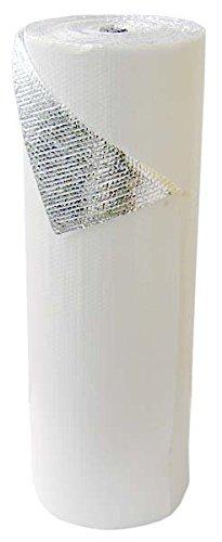 White Single Bubble Insulation w/ Foil 375 s.f. (Bubble Wrap 100 Square Feet compare prices)