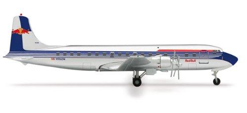 Herpa Wings Flying Bulls DC-6B Model Airplane