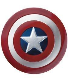 Disfraz Marvel Capitán América el invierno soldado película 2 niño escudo, sin tamaño