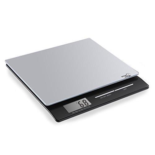 Smart Weigh - Bilancia digitale professionale con superficie in vetro temperato