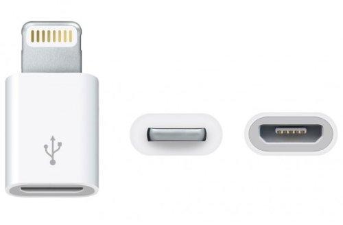 ADATTATORE DA LIGHTNING A MICRO USB PER IPHONE 5 / IPAD 4 / IPAD MINI / IPOD 7 / IPOD TOUCH 5