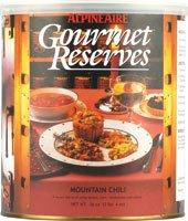 Alpine Aire Gourmet Reserves Mountain Chili (10-Can) by Alpine Aire