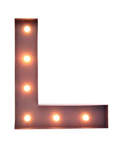 LO+DEMODA Decoración Pared LED L