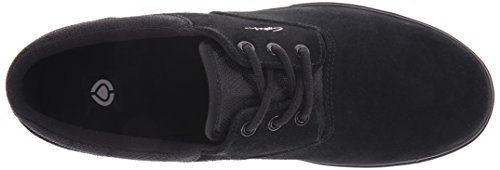 C1RCA Men's Valeo SE Skateboard Shoe, Black/Moon Struck, 11 M US