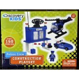 Police Crew Construction Playset by Discovery Kids