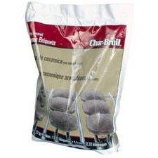 Char-Broil/New Braunfels 2184773 Hickory Ceramic Briquettes 6 Lb