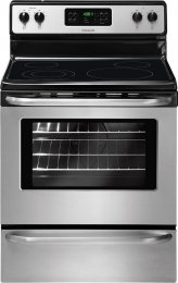 """Frigidaire Ffef3048Ls 30"""" Freestanding Electric Range In Stainless Steel"""