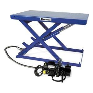 Scissor Lift Table, 550 Lb., 115V, 1 Phase