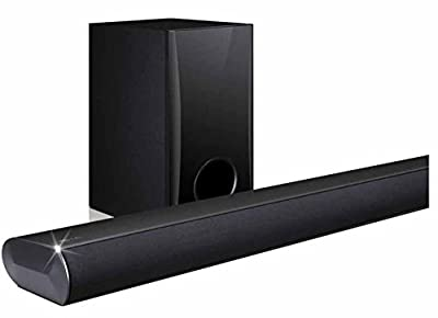 LG Electronics LAS350B 2.1-Channel 120W Bluetooth Sound Bar with Wired Subwoofer, Wirelessly Stream Music from Smartphones, Tablets, and More (Certified Refurbished)