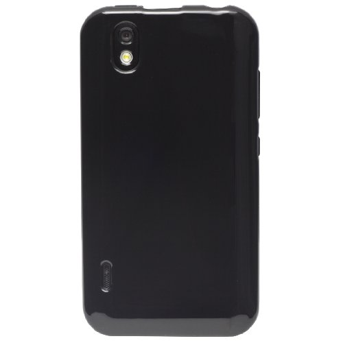 TPU-Cases High Gloss Back Flexible TPU Cover & Screen Protector for LG Marquee (Sprint) (TPU-Cases Retail Packaging)