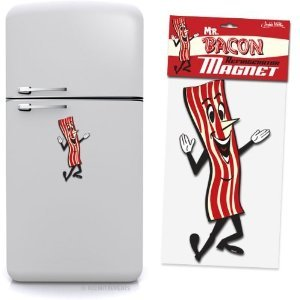 Mr. Bacon Jumbo Magnet