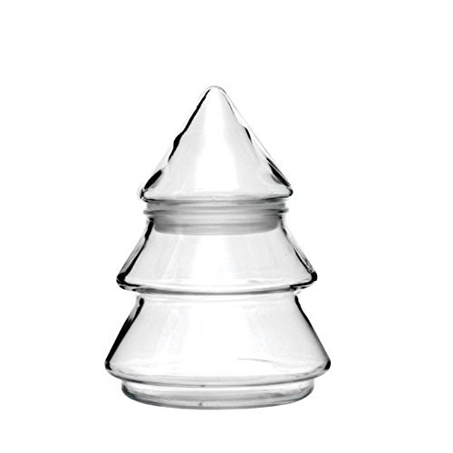 Anchor Hocking 6 Inch Glass Christmas Tree Candy Jar 95723X (Christmas Glass Jars compare prices)