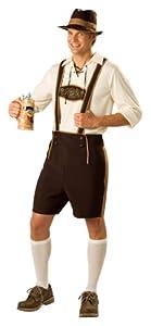 InCharacter Costumes Men's Bavarian Guy Costume, Brown/Tan, Large