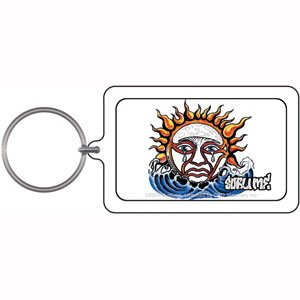 Licenses Products Sublime Weeping Sun Lucite Key Chain