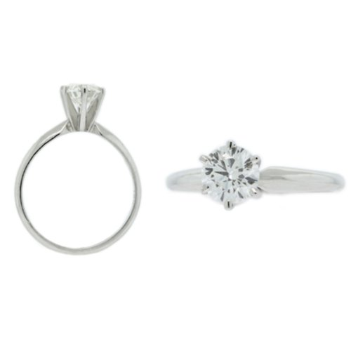 3.00 Ct. Round Diamond Solitaire Ring D, VVS1