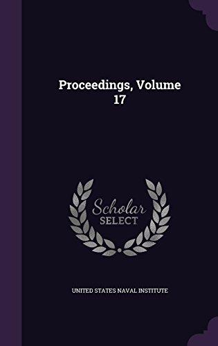Proceedings, Volume 17