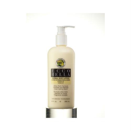 エコベラ Herbal Body Lotion Vanilla 8 fl oz