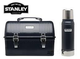スタンレー クラシックランチボックス+真空断熱ボトルコンボ 9.4Lランチボックス+750mLボトル ネイビー 並行輸入品 STANLEY CLASSIC LUNCH BOX+VACUUM BOTTLE COMBO 10qt/9.4L+25oz/750mL