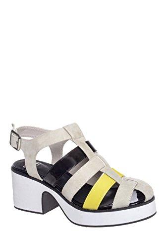 Nydilla Mid Heel Platform Sandal
