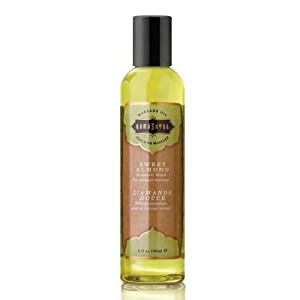 Kama Sutra Aromatic Massage Oil, Sweet Almond 8 oz
