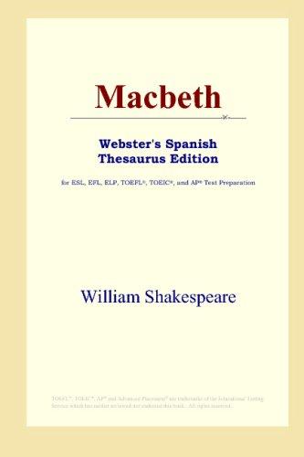 Macbeth (Webster's Spanish Thesaurus Edition)