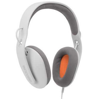 with Mike over-ear incase (incase) Sonic / headphones black / orange EC30003 [United States regular and parallel imported goods]