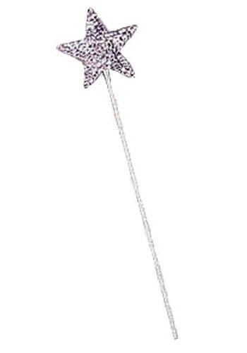 Women's Star Wand, Silver