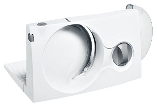 Bosch mas4000W Trancheuse lame dentelée universelle, pliable, 100W, Blanc