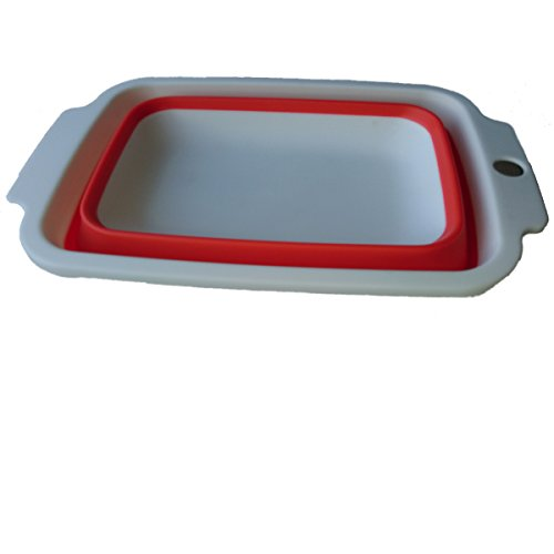 Rykey Collapsible Bowl folding bowl (red) (Folding Dish Pan compare prices)
