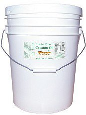 Tropical Traditions Expeller Pressed Coconut Oil, Non-Certified - 5-gallon pail