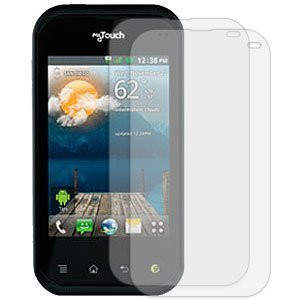 MYBAT LGC800LCDSCPRTW LCD Screen Protector for LG myTouch Q C800 - Retail Packaging - Twin Pack
