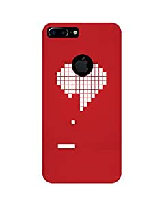 GripIt Digital Heart Printed Case for Apple iPhone 7 Plus